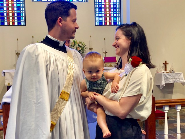 The Fife Family: Dcn. Kevin, Alban, Mary-Willis