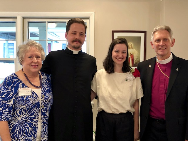 Frances Parish, Deacon Kevin, Mary-Willis, Bp. Haines