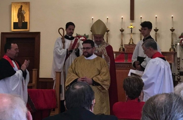 Presentation of the new deacon
