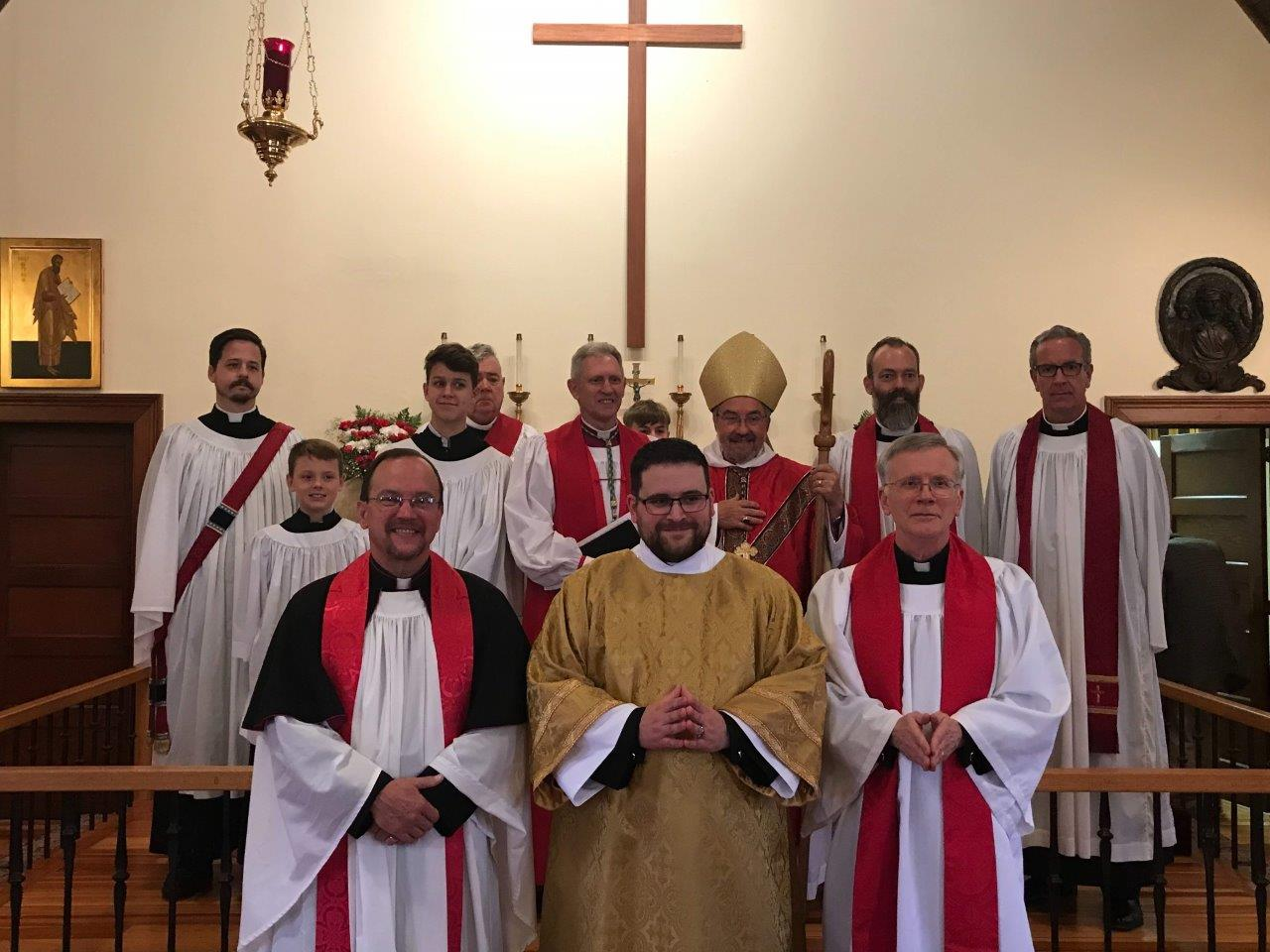 Deacon Miller, Altar Party & Visiting Clergy